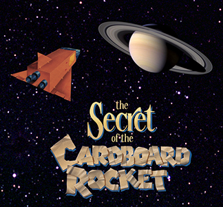 Secret of the cardboard rocket show